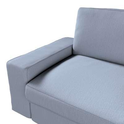 Pokrowiec na sofę Kivik 3-osobową, rozkładaną w kolekcji Chenille, tkanina: 702-13