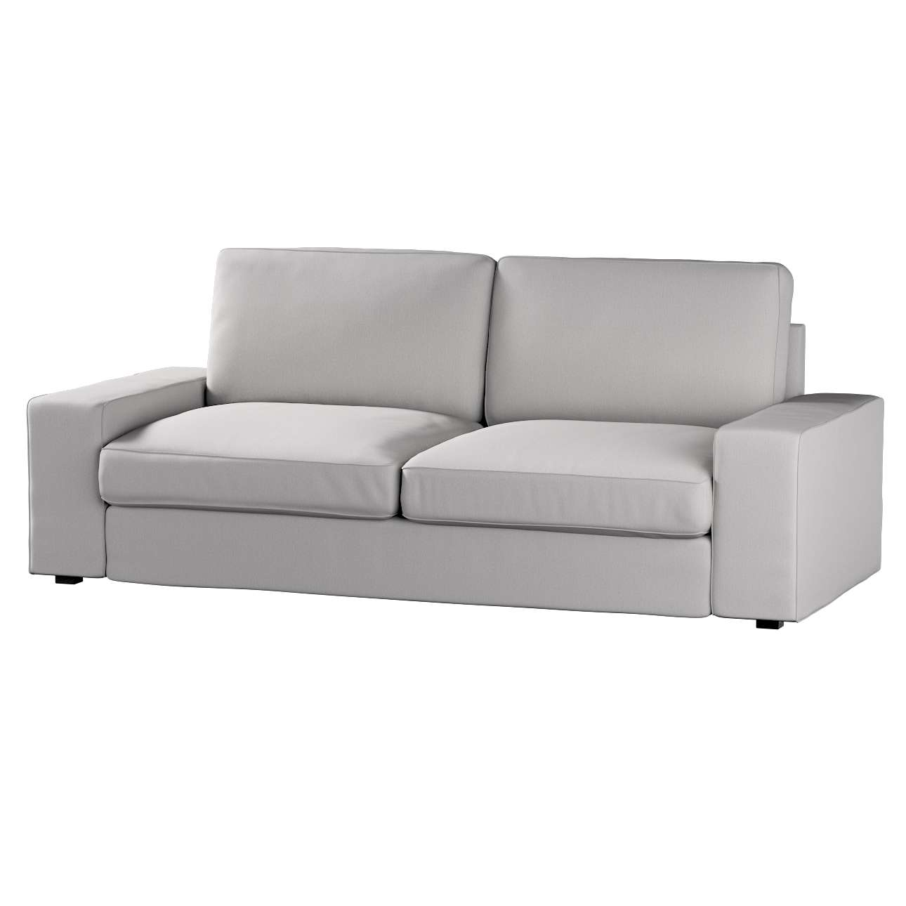 Pokrowiec na sofę Kivik 3-osobową, rozkładaną w kolekcji Chenille, tkanina: 702-23