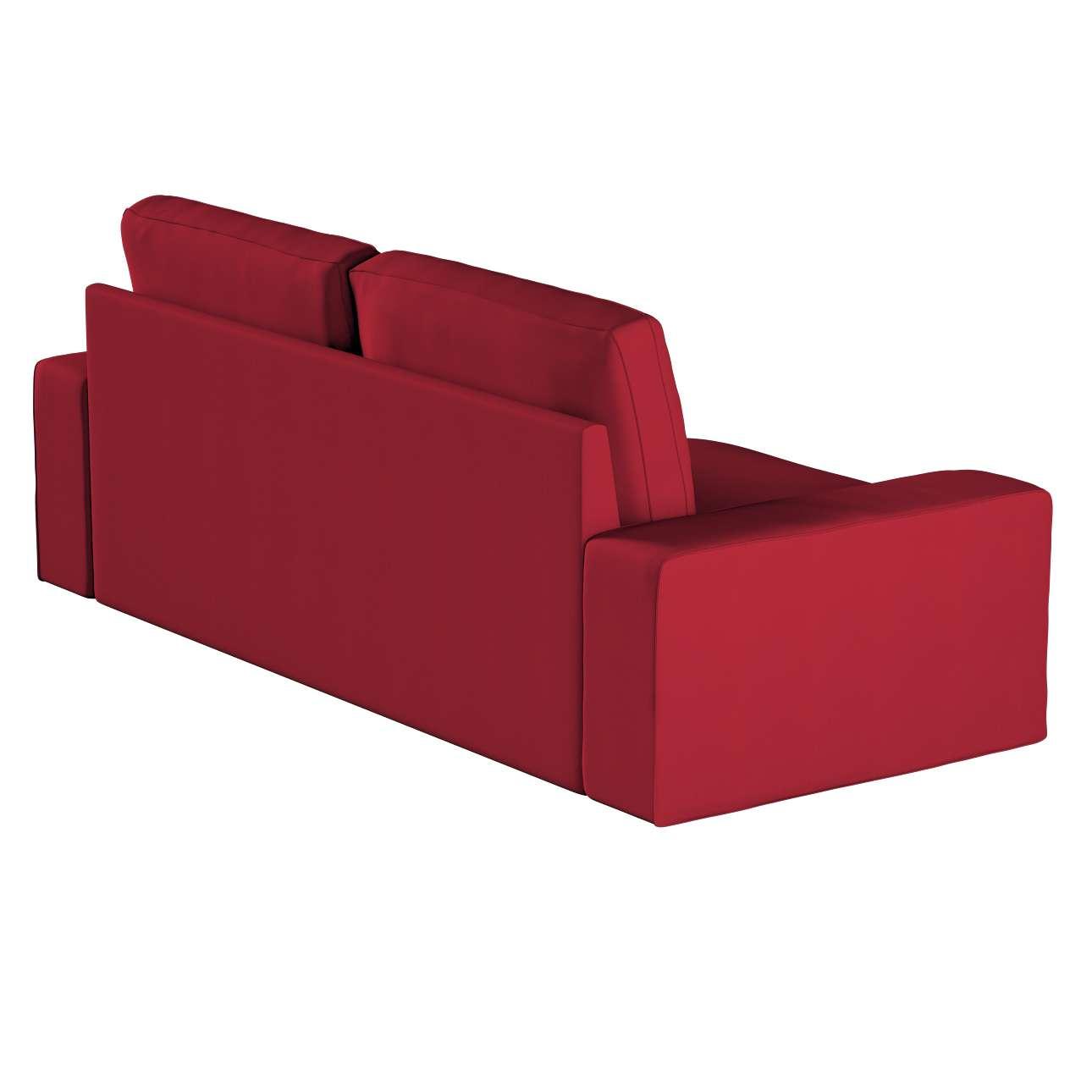 Pokrowiec na sofę Kivik 3-osobową, rozkładaną w kolekcji Chenille, tkanina: 702-24