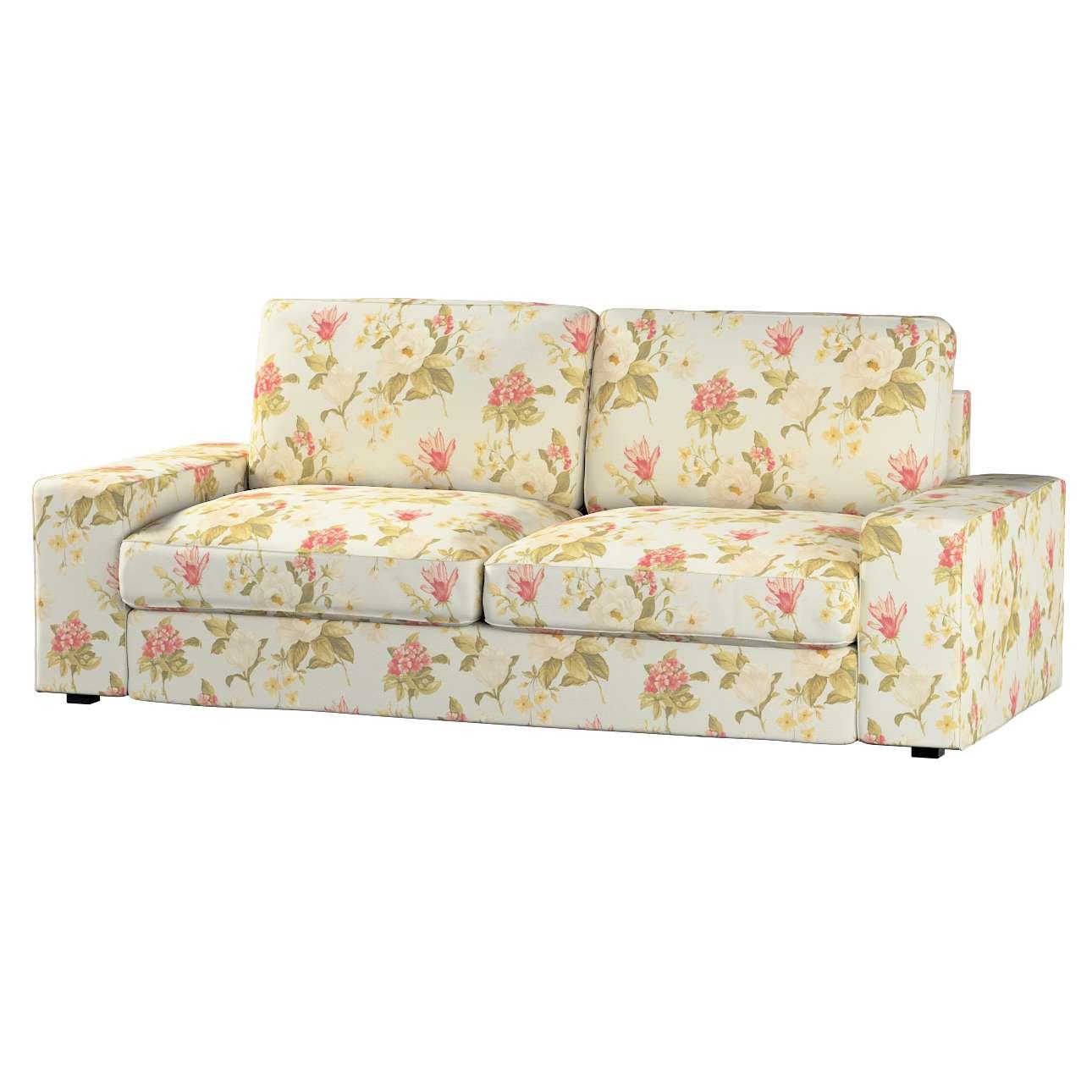 Pokrowiec na sofę Kivik 3-osobową, rozkładaną Sofa Kivik 3-osobowa rozkładana w kolekcji Londres, tkanina: 123-65