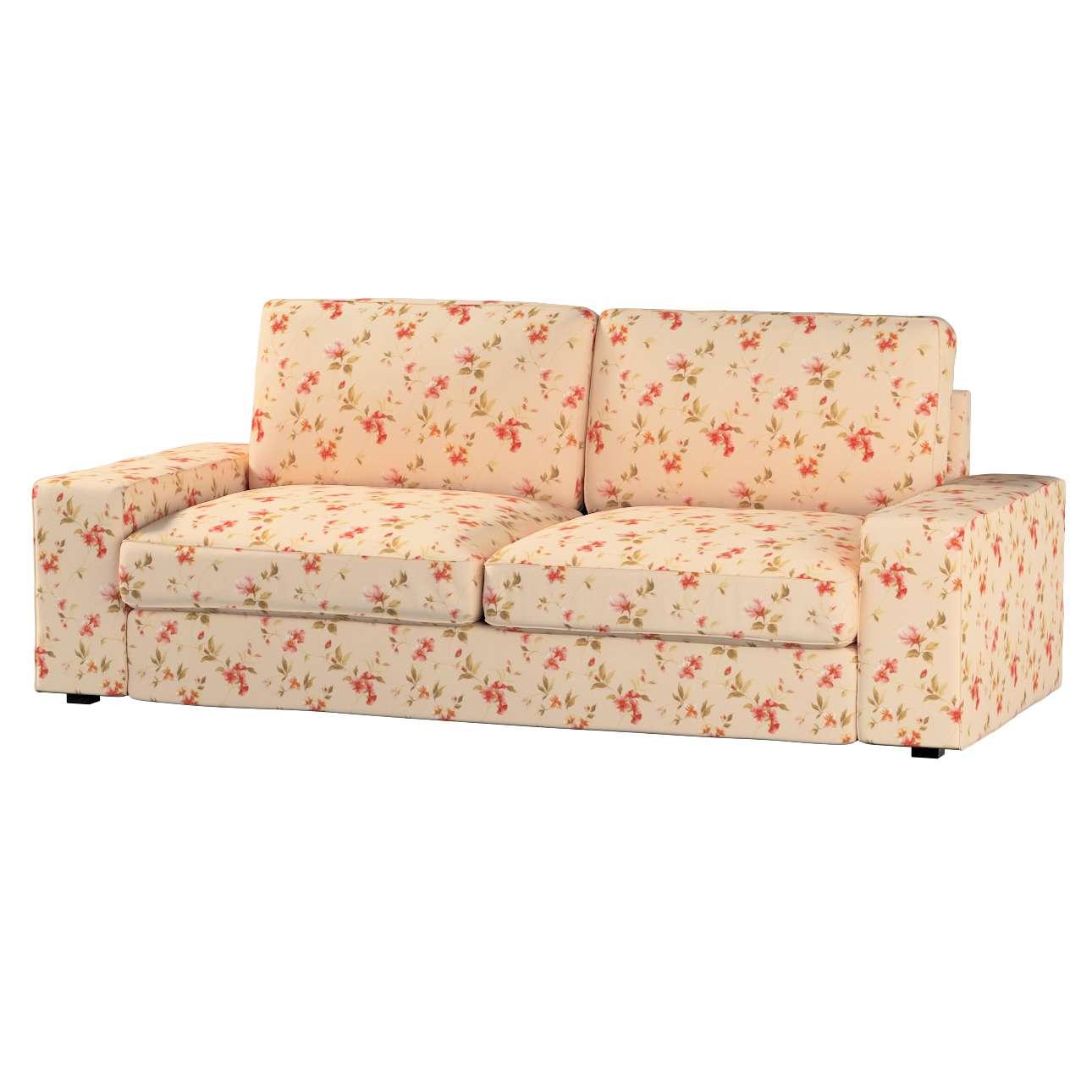 Pokrowiec na sofę Kivik 3-osobową, rozkładaną Sofa Kivik 3-osobowa rozkładana w kolekcji Londres, tkanina: 124-05