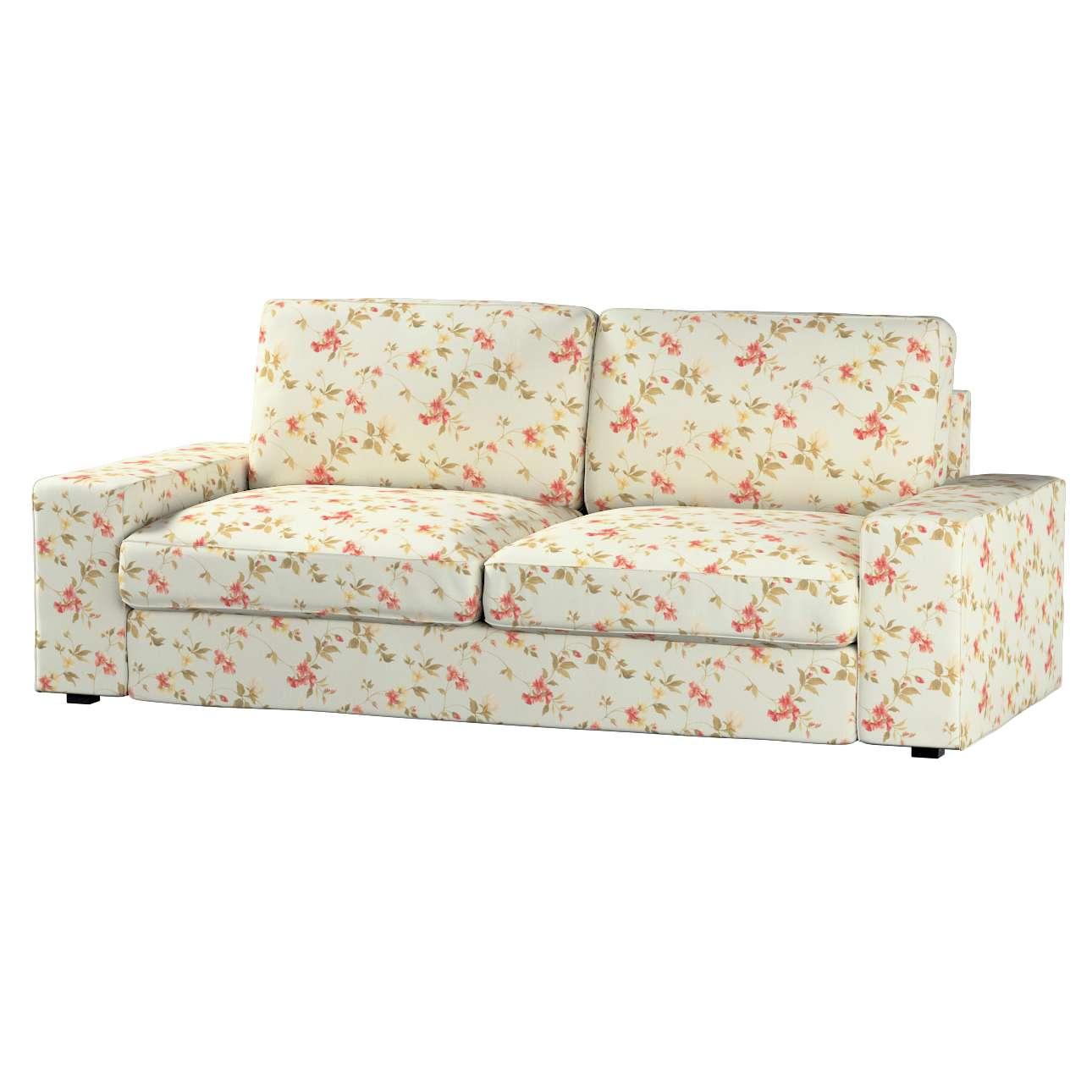 Pokrowiec na sofę Kivik 3-osobową, rozkładaną Sofa Kivik 3-osobowa rozkładana w kolekcji Londres, tkanina: 124-65