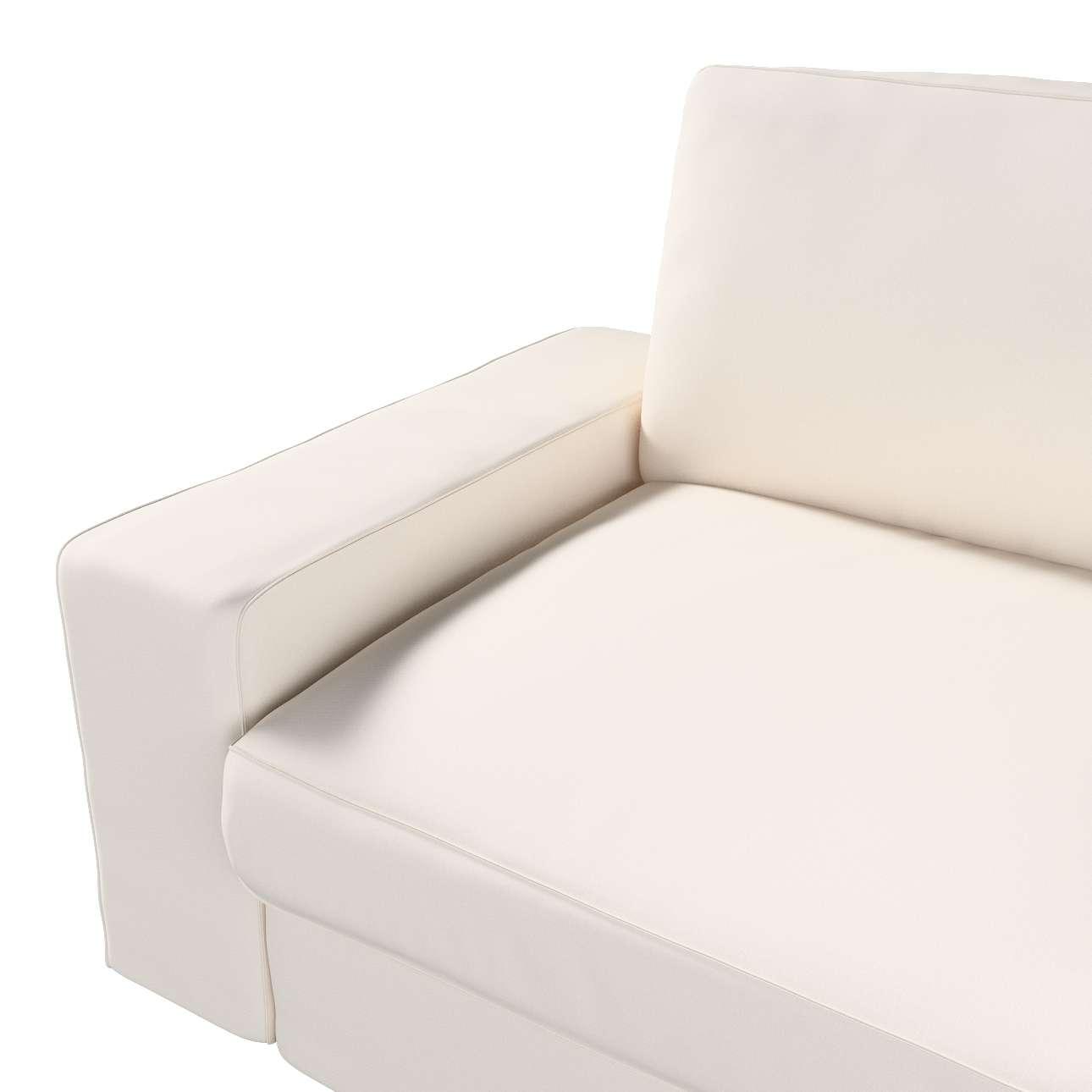 Pokrowiec na sofę Kivik 3-osobową, rozkładaną w kolekcji Etna, tkanina: 705-01