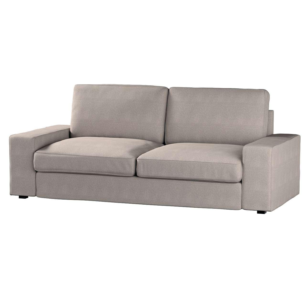 IKEA klädsel Kivik 3 sits bäddsoffa, Beige grå, 705 09, Sofa Kivik 3 osobowa rozk u0142adana Dekoria