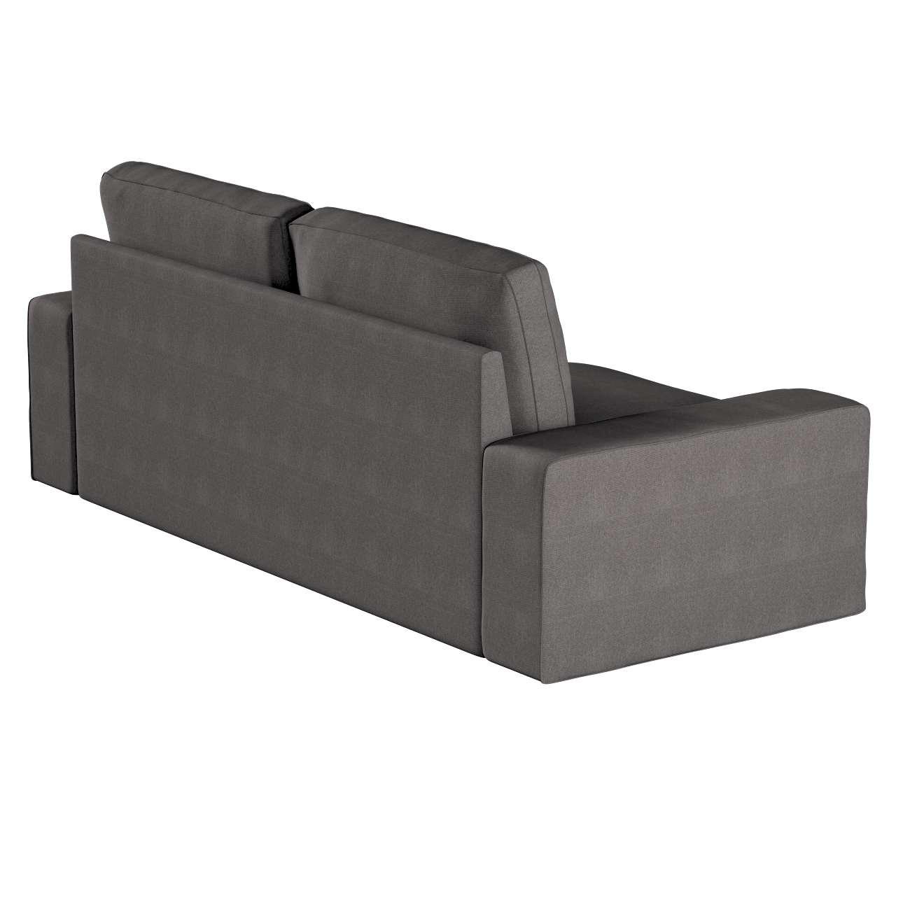Pokrowiec na sofę Kivik 3-osobową, rozkładaną w kolekcji Etna, tkanina: 705-35
