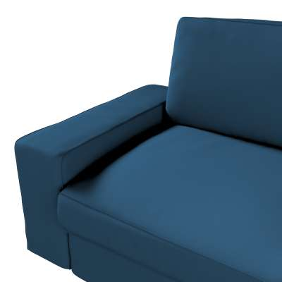 Pokrowiec na sofę Kivik 3-osobową, rozkładaną w kolekcji Cotton Panama, tkanina: 702-30