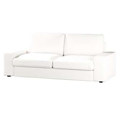 Pokrowiec na sofę Kivik 3-osobową, rozkładaną w kolekcji Cotton Panama, tkanina: 702-34