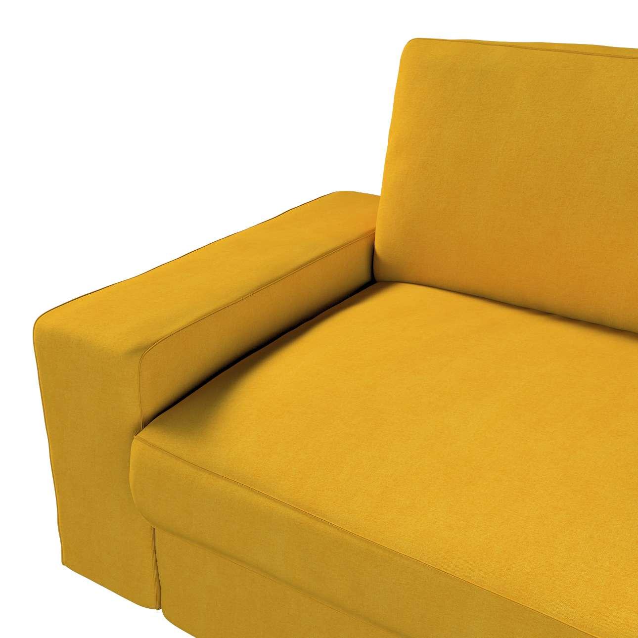 Poťah na sedačku Kivik 3-os., rozkladacia V kolekcii Etna, tkanina: 705-04