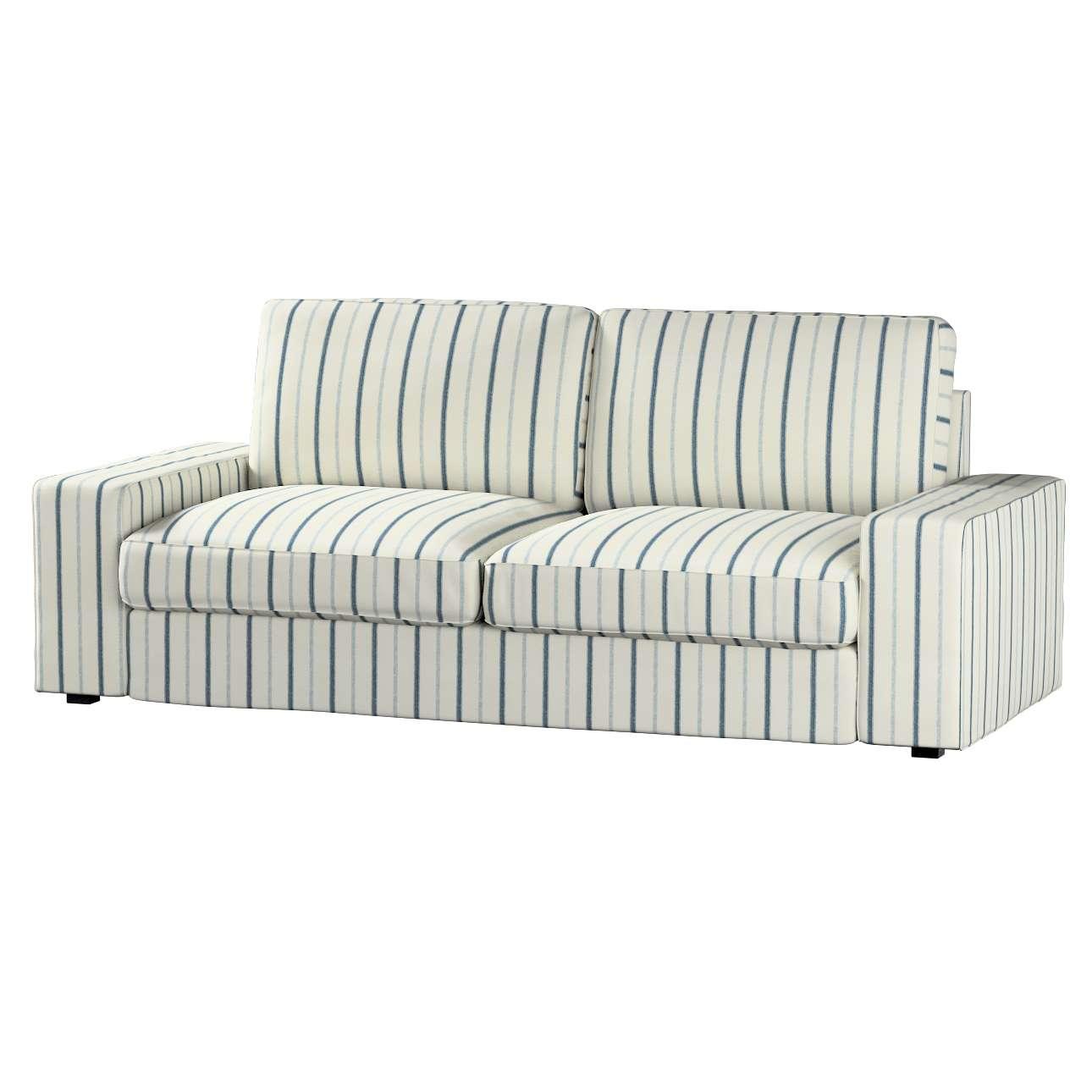 Pokrowiec na sofę Kivik 3-osobową, rozkładaną w kolekcji Avinon, tkanina: 129-66