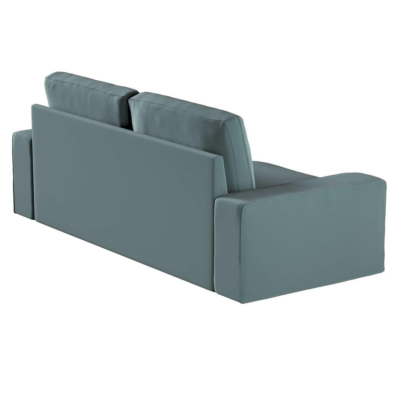 Pokrowiec na sofę Kivik 3-osobową, rozkładaną w kolekcji Ingrid, tkanina: 705-36