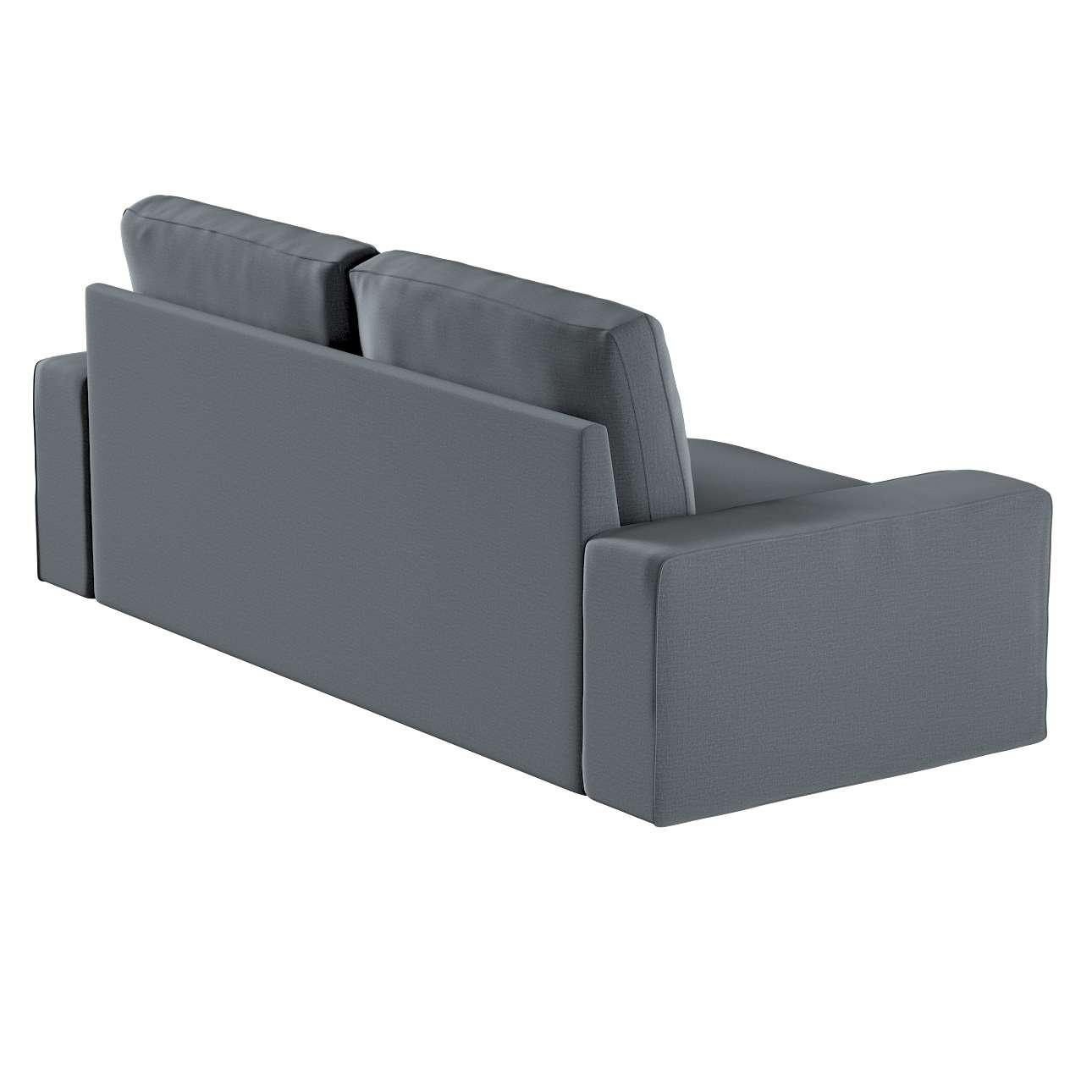 Pokrowiec na sofę Kivik 3-osobową, rozkładaną w kolekcji Ingrid, tkanina: 705-43