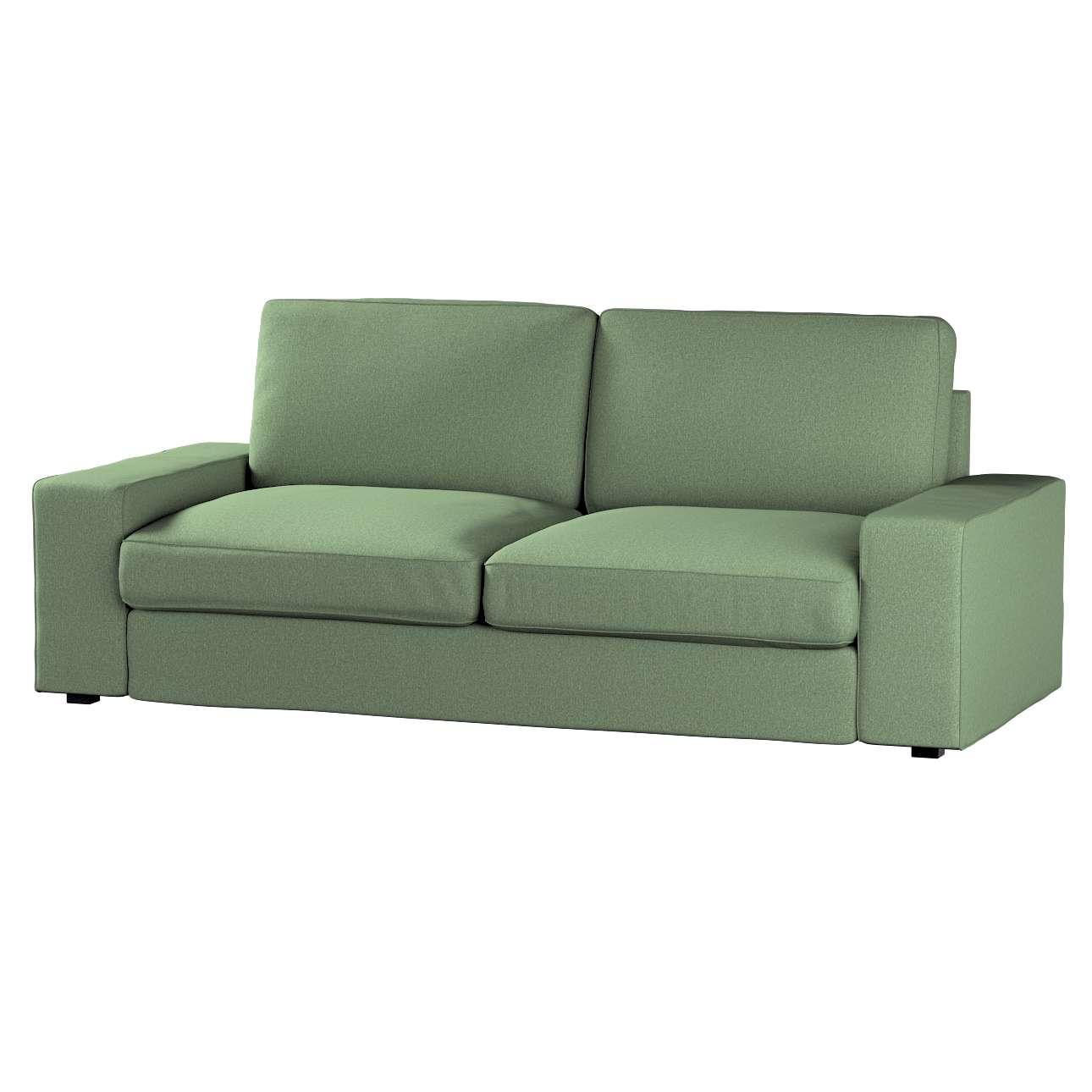 Pokrowiec na sofę Kivik 3-osobową, rozkładaną w kolekcji Amsterdam, tkanina: 704-44