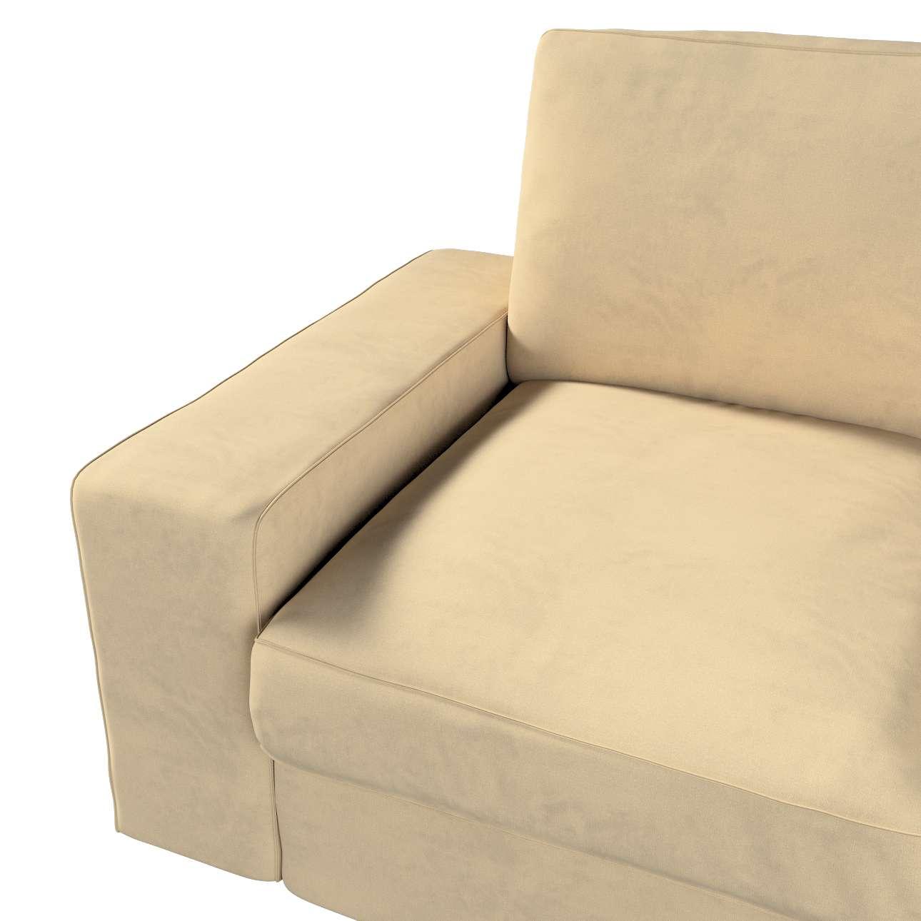 Pokrowiec na sofę Kivik 3-osobową, rozkładaną w kolekcji Living II, tkanina: 160-82