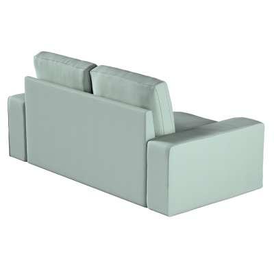 Poťah na sedačku Kivik 3-os., rozkladacia 160-86 mätovo - sivý šenil Kolekcia Living 2