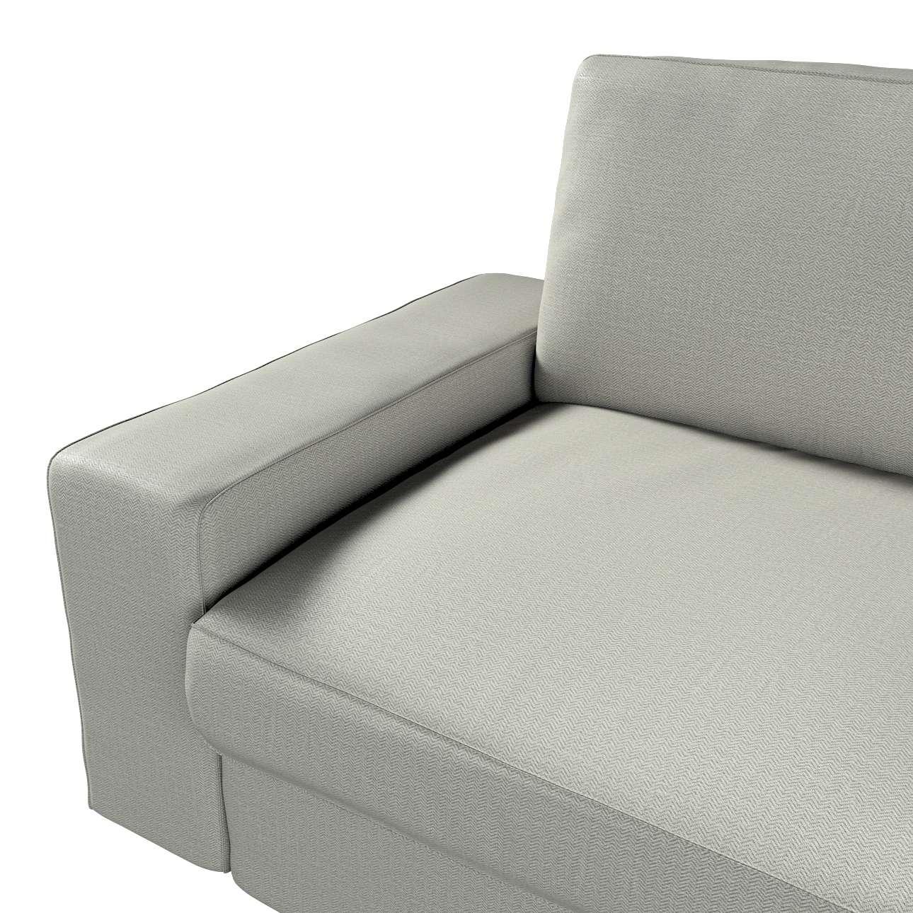 Pokrowiec na sofę Kivik 3-osobową, rozkładaną w kolekcji Bergen, tkanina: 161-83