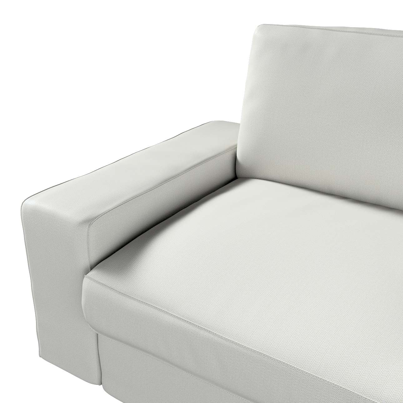 Pokrowiec na sofę Kivik 3-osobową, rozkładaną w kolekcji Bergen, tkanina: 161-84