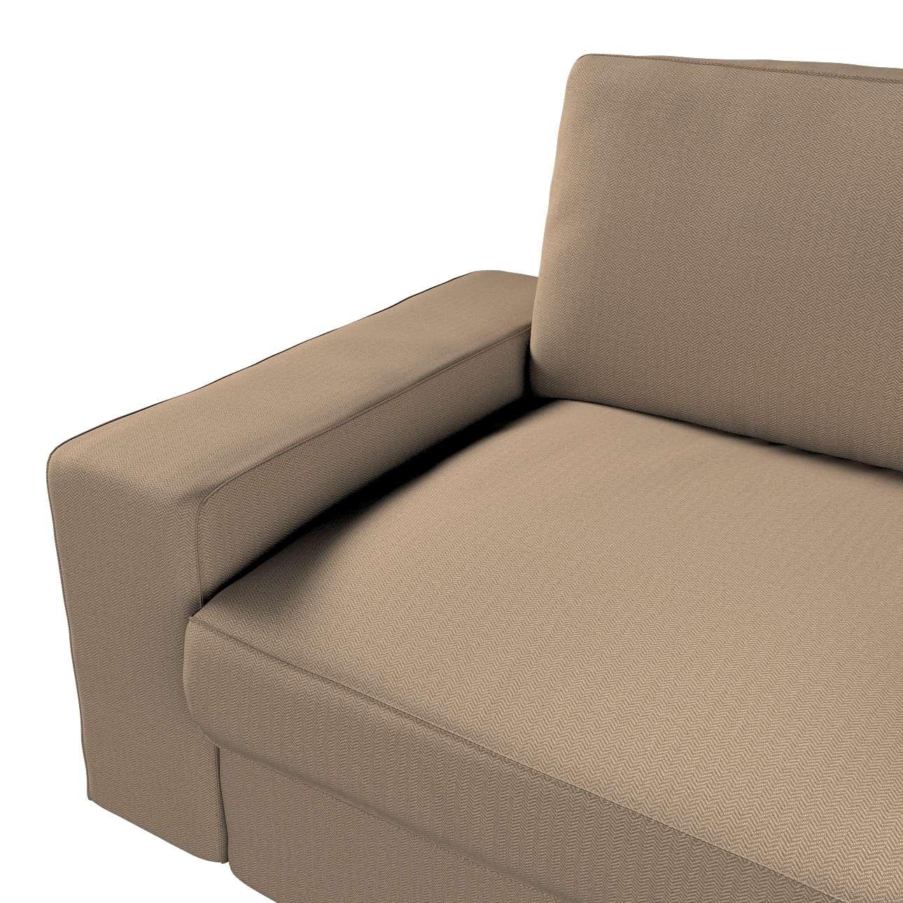 Pokrowiec na sofę Kivik 3-osobową, rozkładaną w kolekcji Bergen, tkanina: 161-85