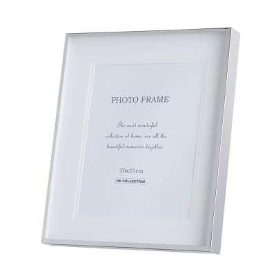 Fotorahmen Diana 29x3,5x34cm silver Wohnaccessoires - Dekoria.de