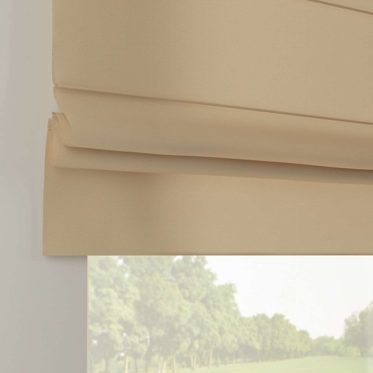 Liftgardin Paris<br/>Med rett volang 80 x 170 cm fra kolleksjonen Cotton Panama, Stoffets bredde: 702-01