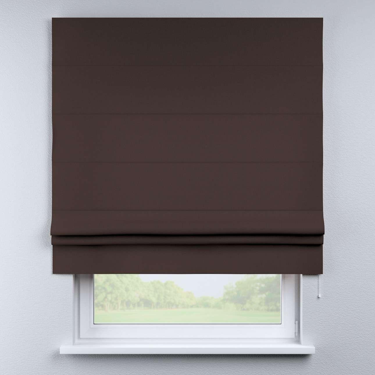 Foldegardin Paris<br/>Med lige flæse 80 x 170 cm fra kollektionen Cotton Panama, Stof: 702-03