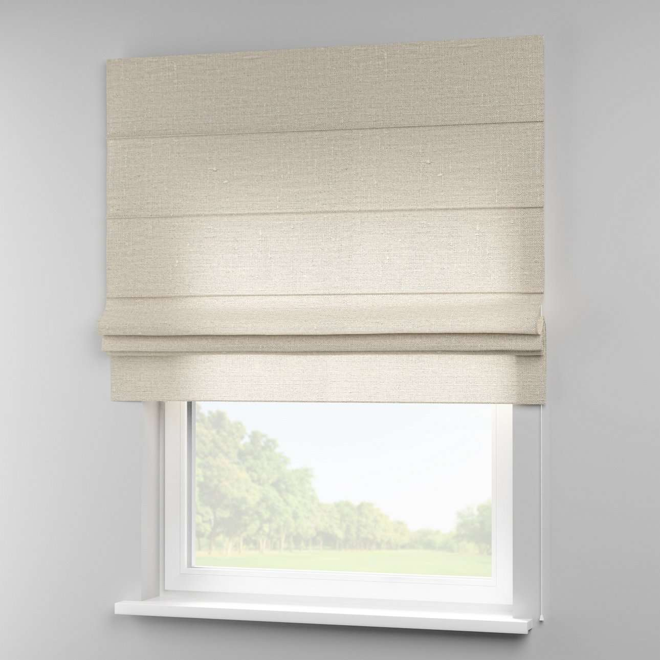Padva roman blind  in collection Linen, fabric: 392-05