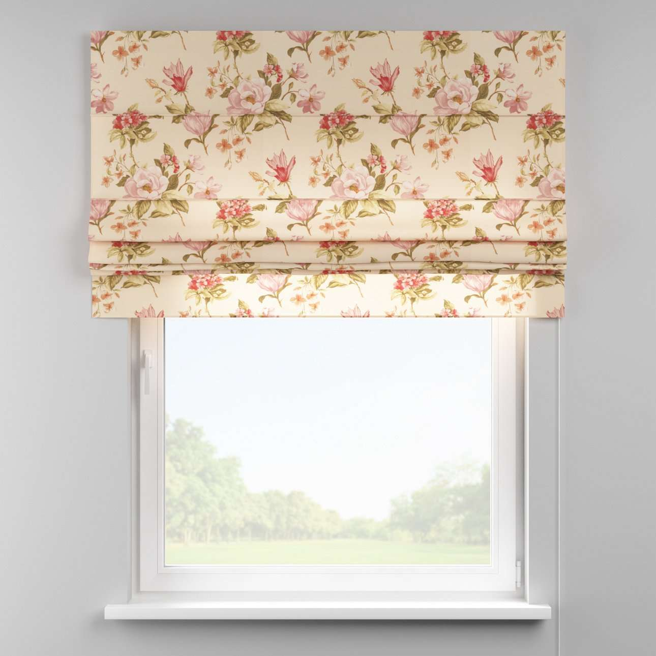 Padva roman blind  80 x 170 cm (31.5 x 67 inch) in collection Londres, fabric: 123-05
