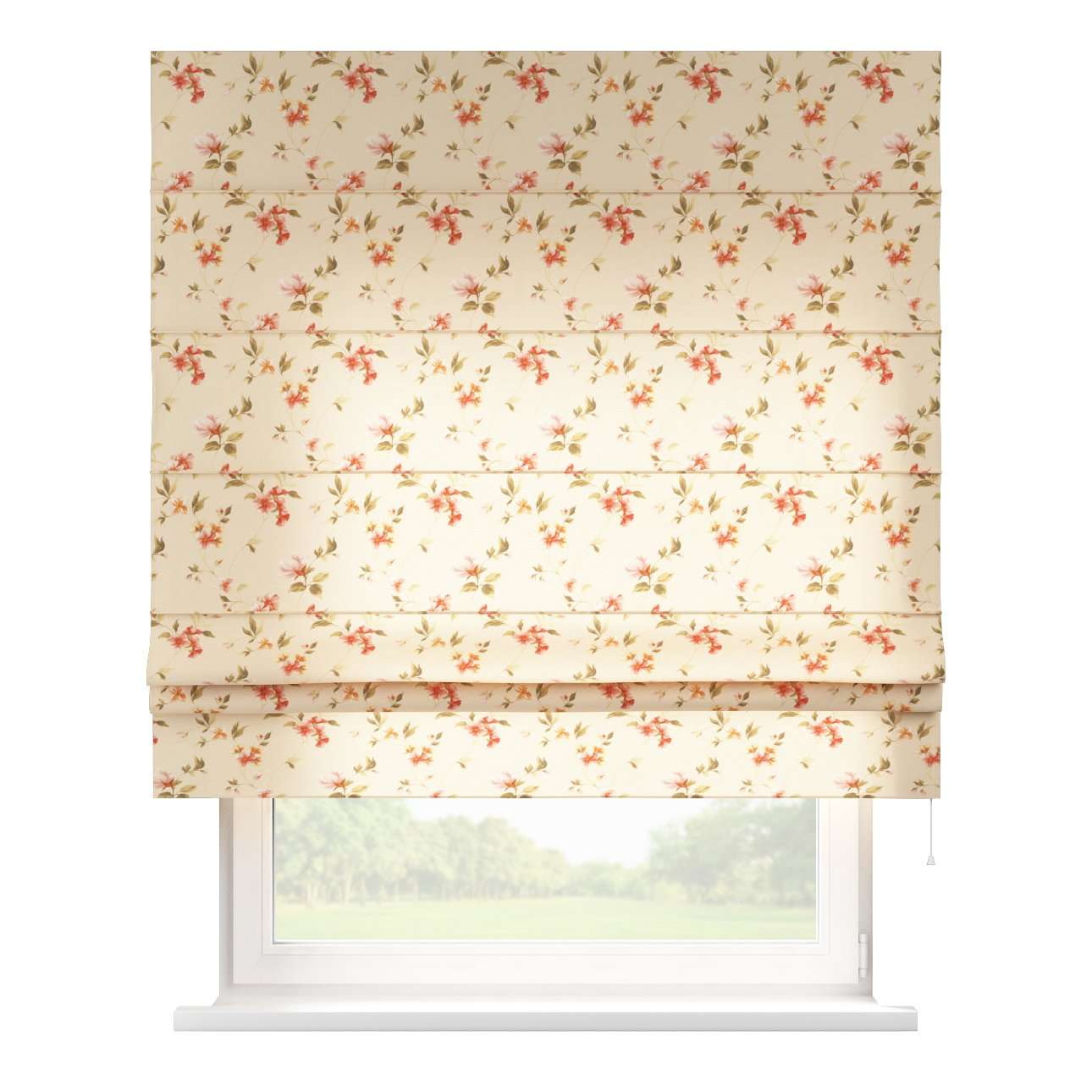 Padva roman blind  80 x 170 cm (31.5 x 67 inch) in collection Londres, fabric: 124-05