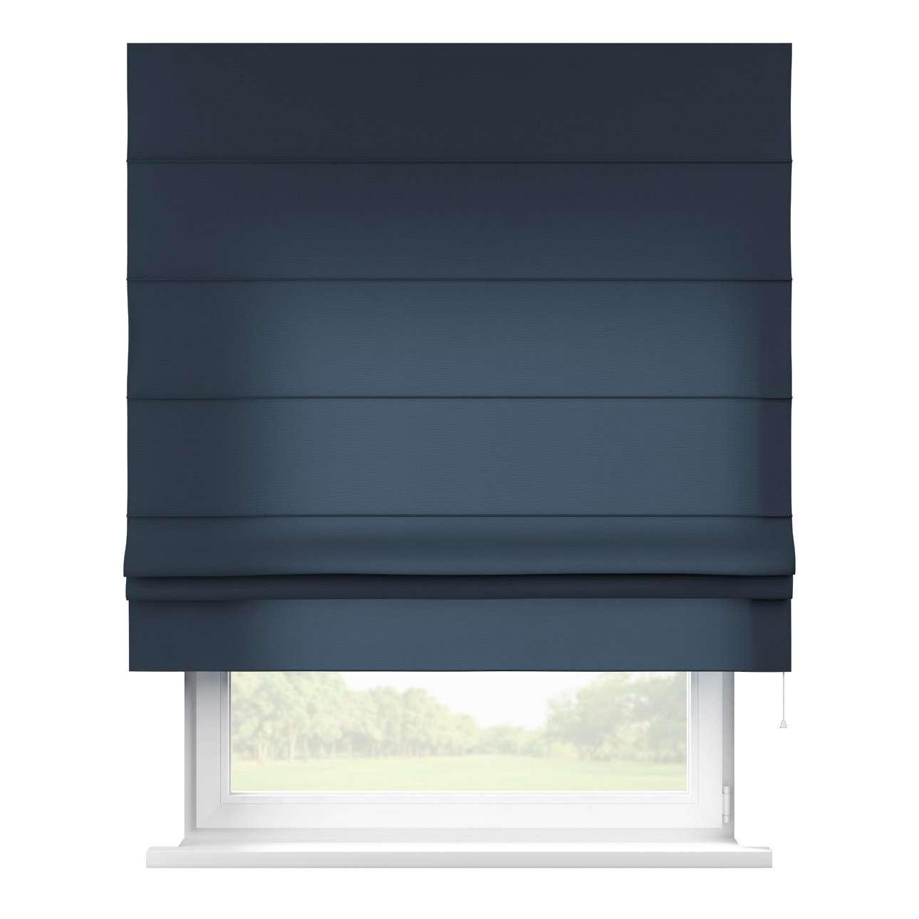 Raffrollo Padva, marinenblau, 160 × 170 cm, Quadro