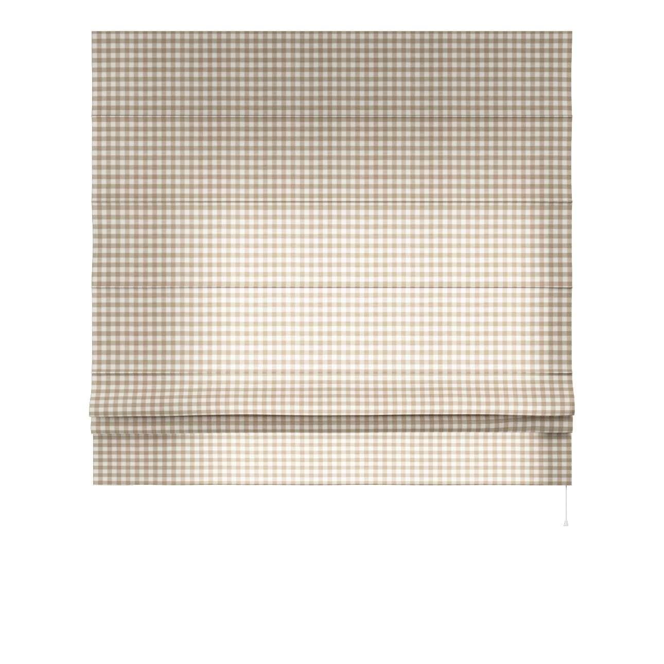 Liftgardin Paris<br/>Med rett volang 80 x 170 cm fra kolleksjonen Quadro, Stoffets bredde: 136-06