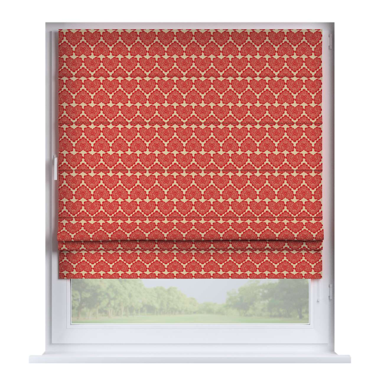 Padva roman blind  80 x 170 cm (31.5 x 67 inch) in collection Christmas, fabric: 629-17