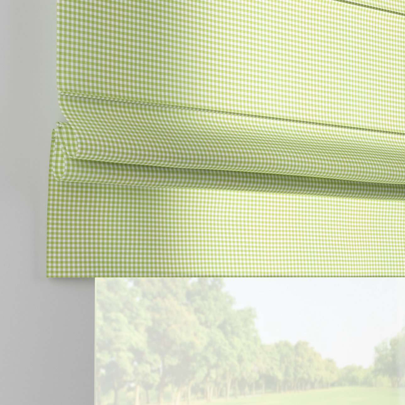 Padva roman blind  in collection Quadro, fabric: 136-33