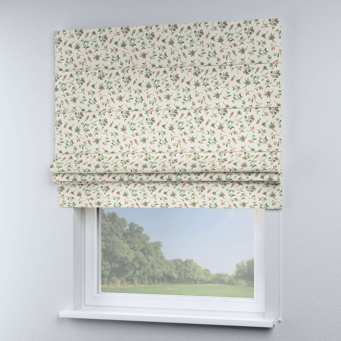 Padva roman blind  80 x 170 cm (31.5 x 67 inch) in collection Londres, fabric: 122-02