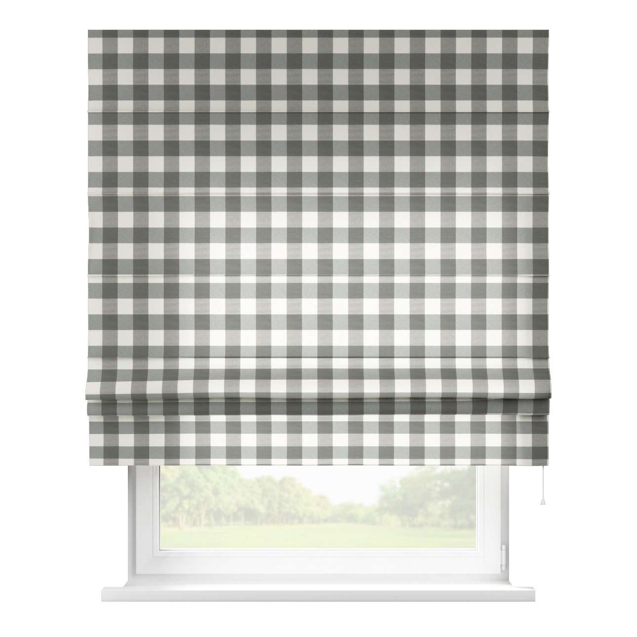 Padva roman blind  in collection Quadro, fabric: 136-13