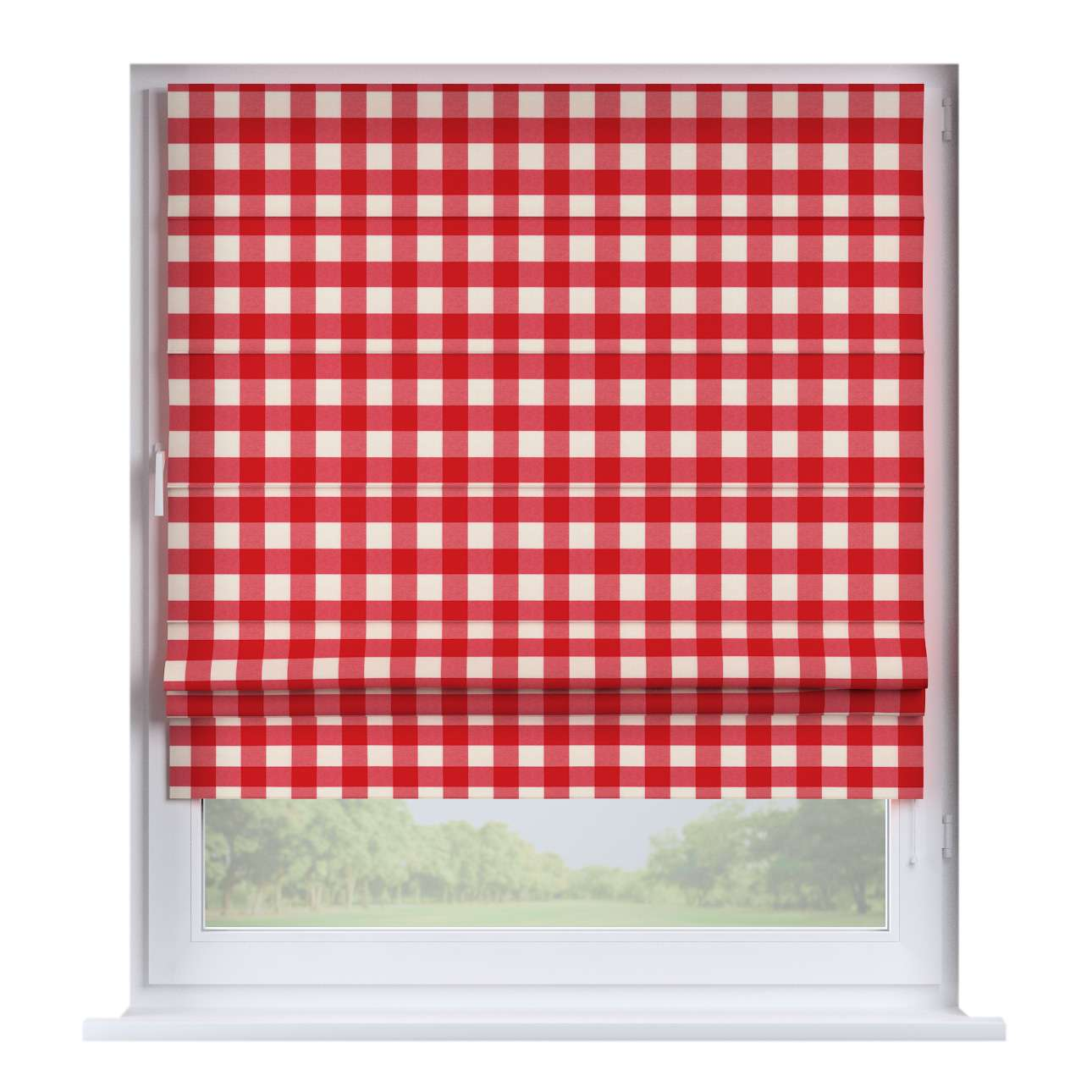 Padva roman blind  80 x 170 cm (31.5 x 67 inch) in collection Quadro, fabric: 136-18