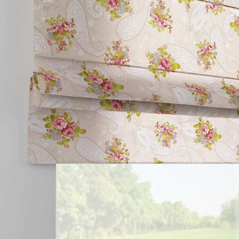 Padva roman blind in collection Flowers, fabric: 311-15