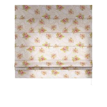 Foldegardin Paris<br/>Med lige flæse 80 x 170 cm fra kollektionen Flowers, Stof: 311-15