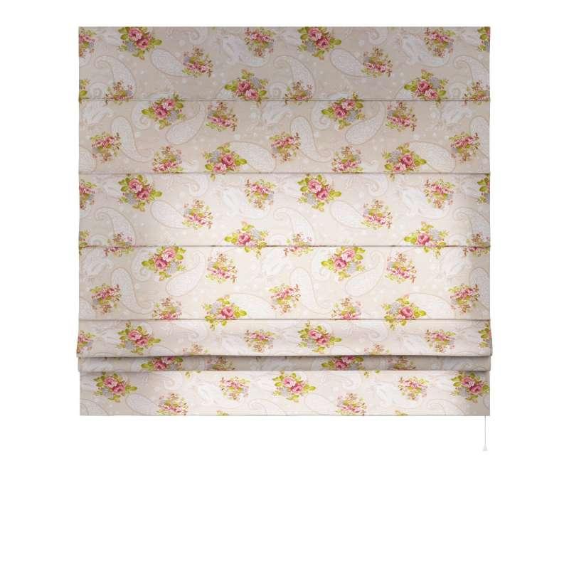 Laskosverho Paris<br/>suoralla reunalla mallistosta Flowers, Kangas: 311-15
