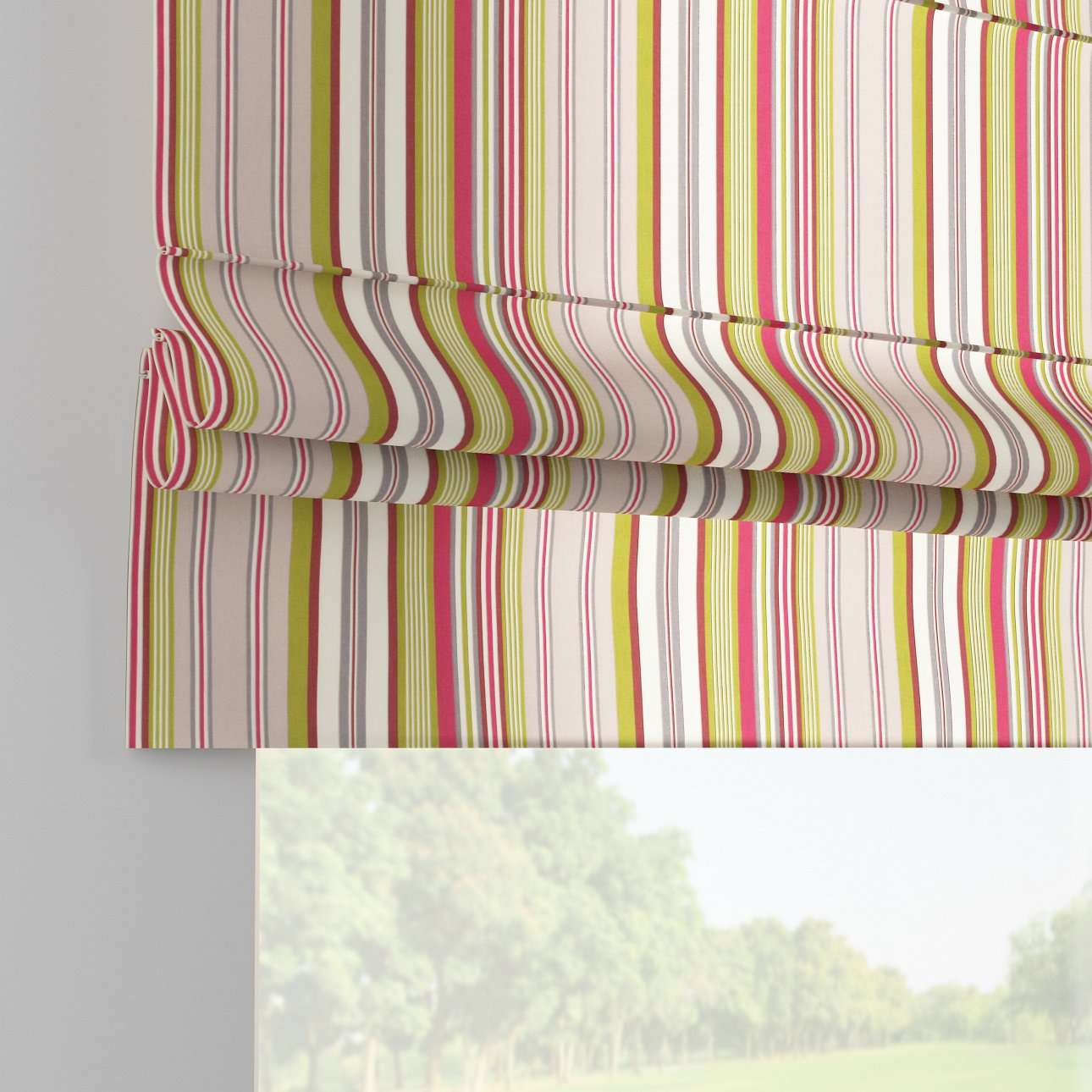 Padva roman blind  80 × 170 cm (31.5 × 67 inch) in collection Flowers, fabric: 311-16