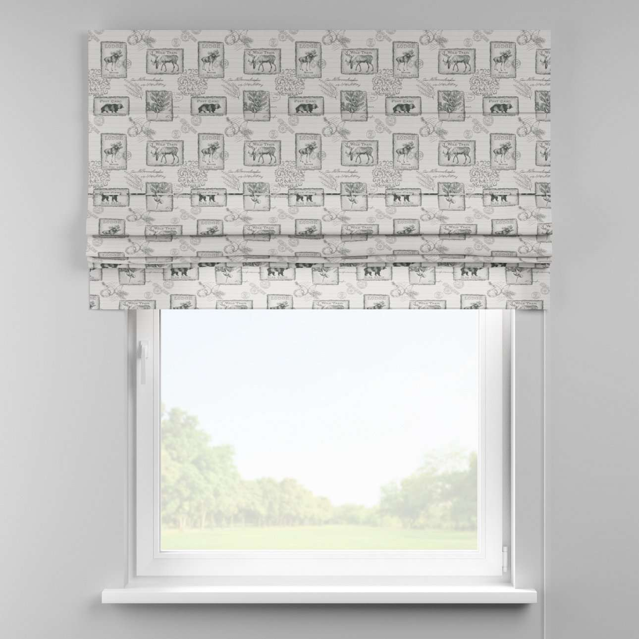 Padva roman blind  80 x 170 cm (31.5 x 67 inch) in collection Christmas , fabric: 630-18