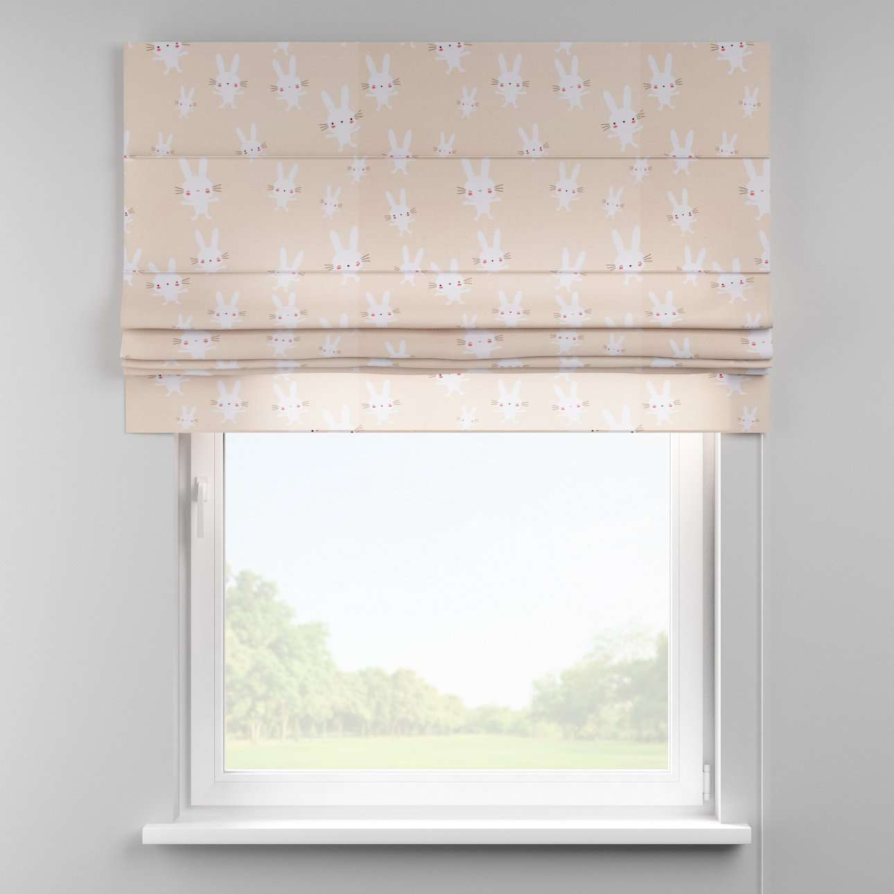 Padva roman blind  80 x 170 cm (31.5 x 67 inch) in collection Apanona, fabric: 151-00