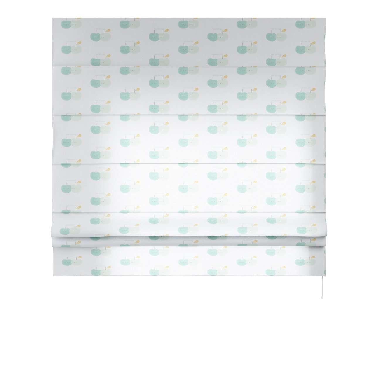 Foldegardin Paris<br/>Med lige flæse 80 x 170 cm fra kollektionen Apanona, Stof: 151-02