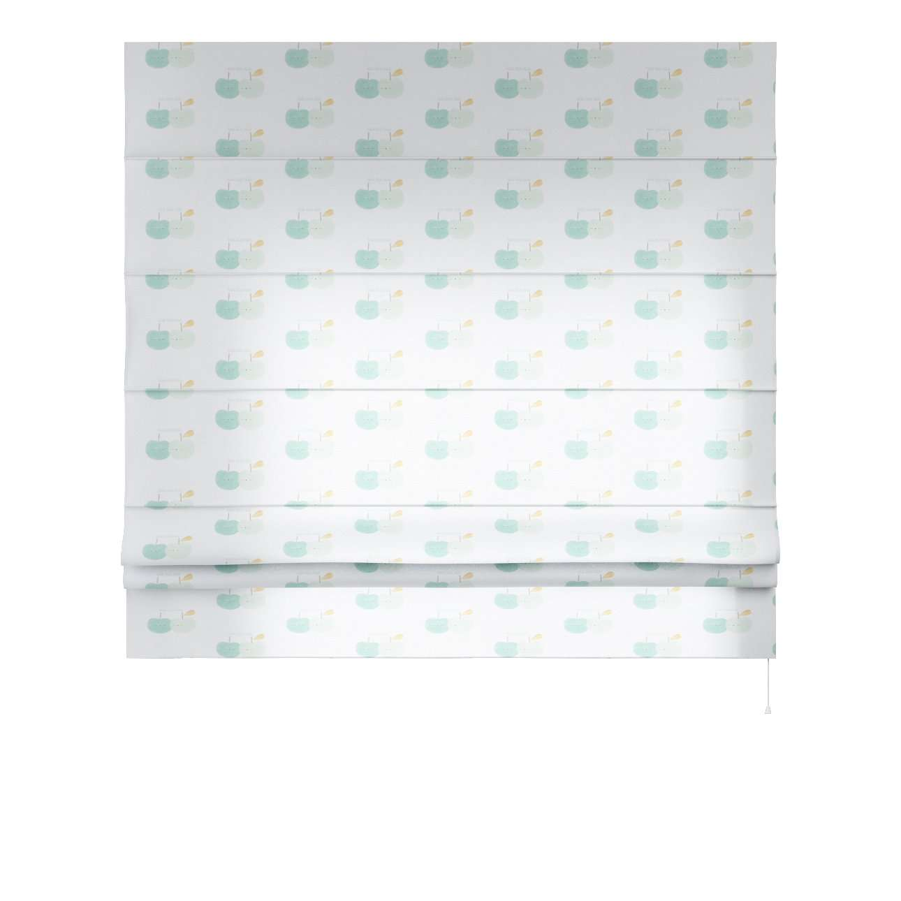 vouwgordijn Padva 80 x 170 cm van de collectie Apanona, Stof: 151-02