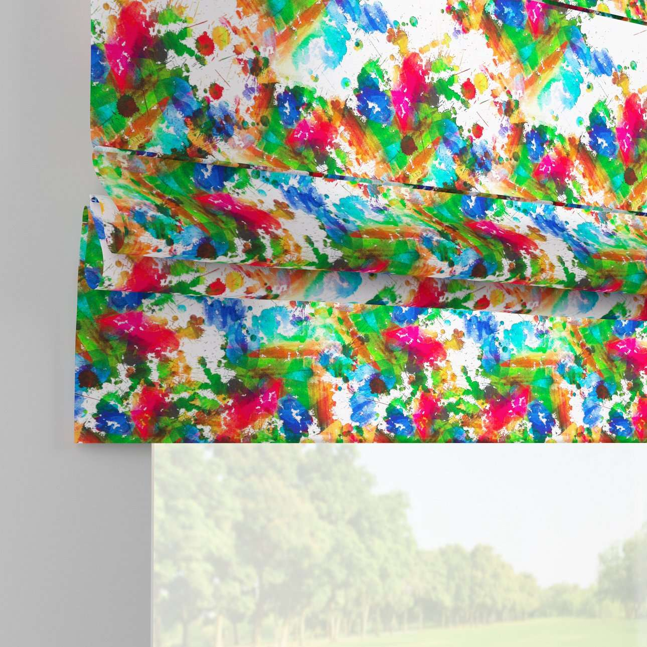 Padva roman blind  80 x 170 cm (31.5 x 67 inch) in collection New Art, fabric: 140-23