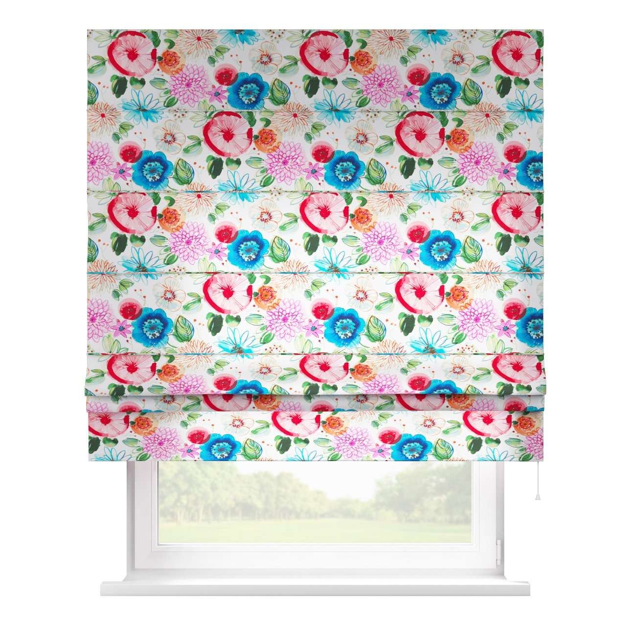 Padva roman blind  80 x 170 cm (31.5 x 67 inch) in collection New Art, fabric: 140-24