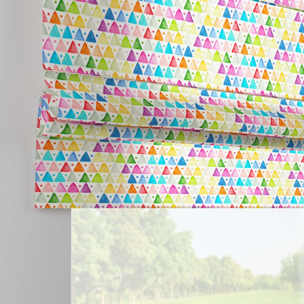Padva roman blind  80 x 170 cm (31.5 x 67 inch) in collection New Art, fabric: 140-27