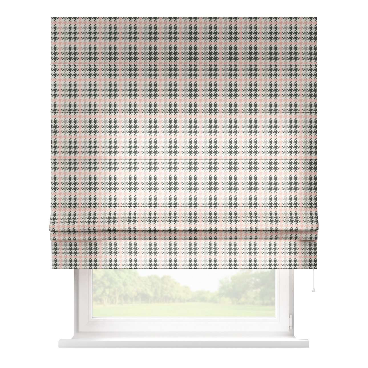 Padva roman blind  80 x 170 cm (31.5 x 67 inch) in collection Brooklyn, fabric: 137-75