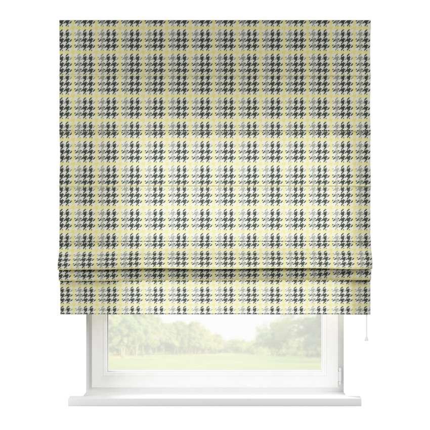 raffrollo padva gelb schwarz 80 x 170 cm dekoria. Black Bedroom Furniture Sets. Home Design Ideas