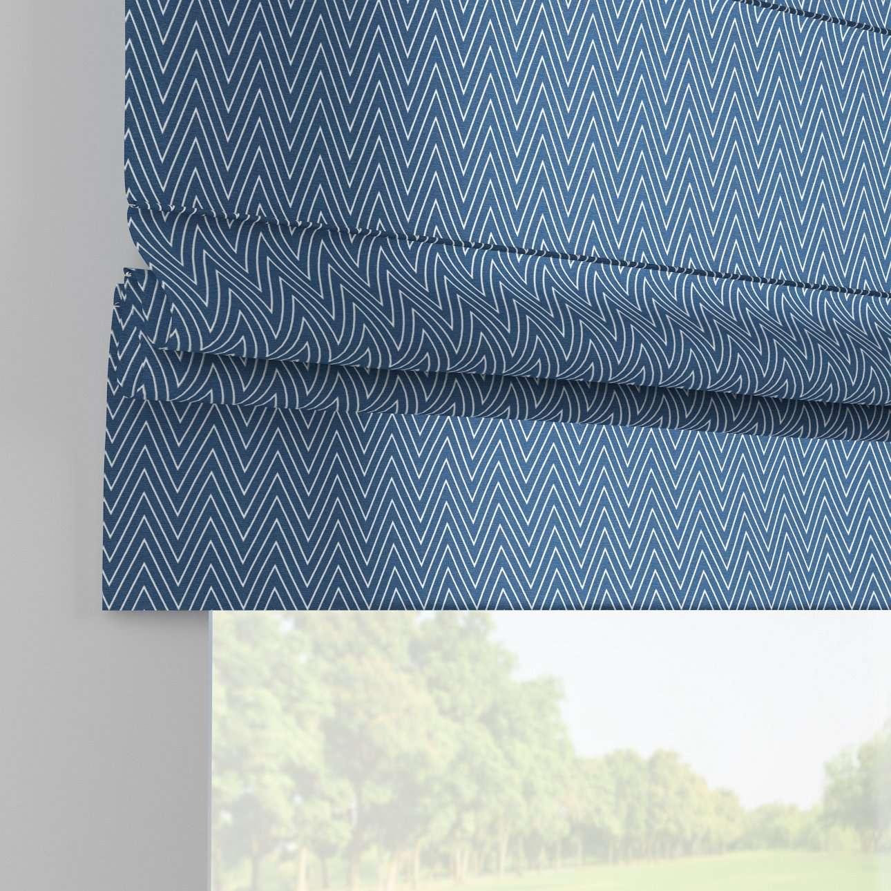 Foldegardin Paris<br/>Med lige flæse 80 x 170 cm fra kollektionen Brooklyn , Stof: 137-88