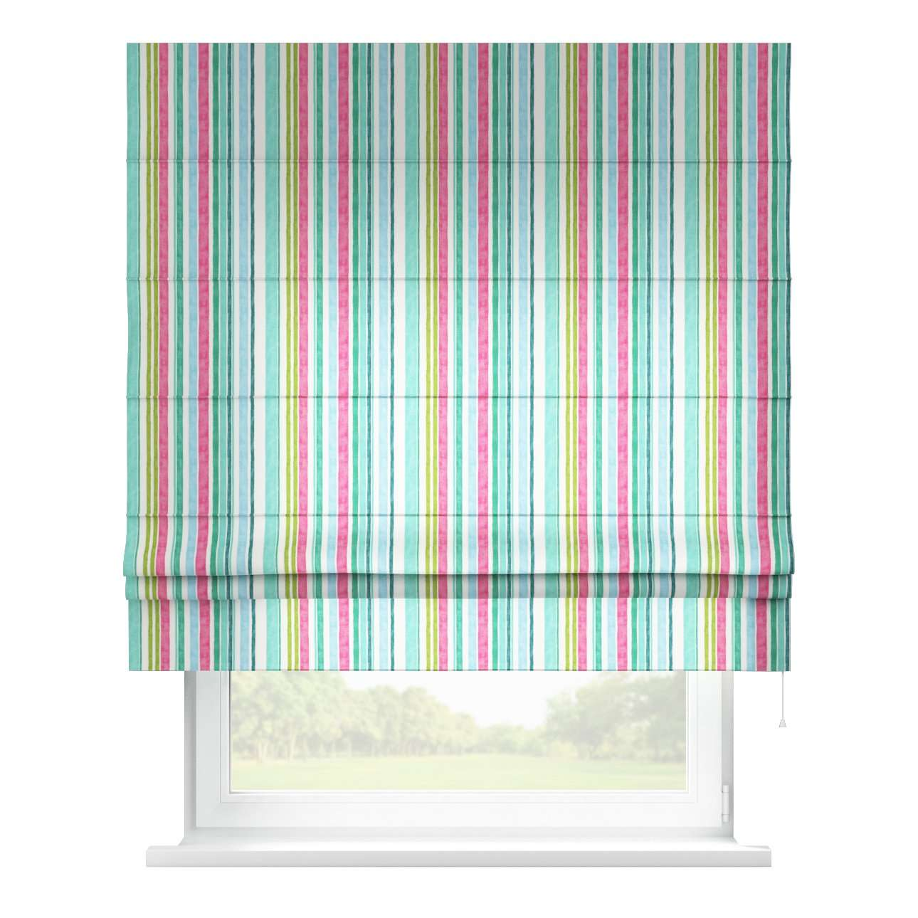 Padva roman blind  in collection Monet, fabric: 140-03