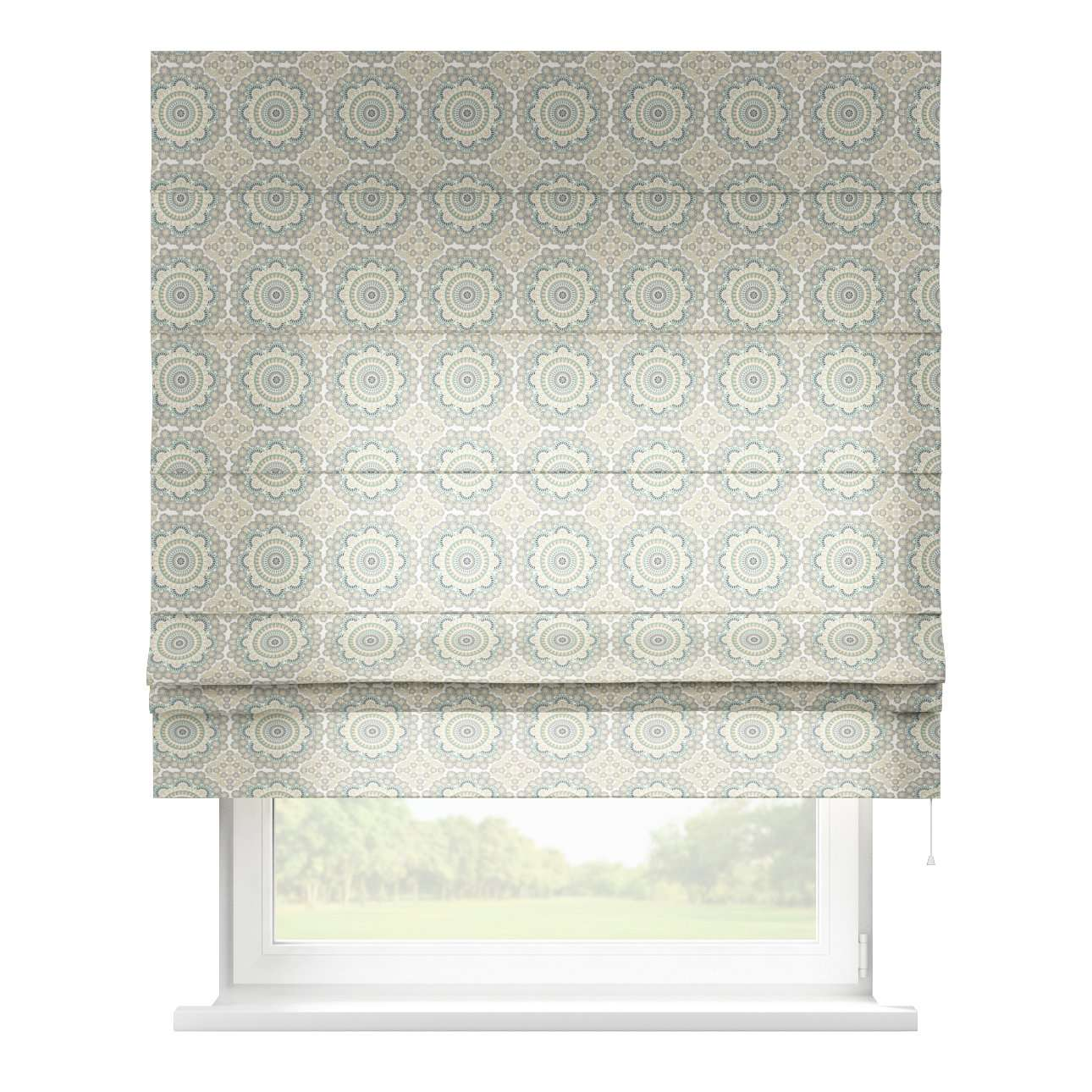 Padva roman blind  80 x 170 cm (31.5 x 67 inch) in collection Comic Book & Geo Prints, fabric: 137-84
